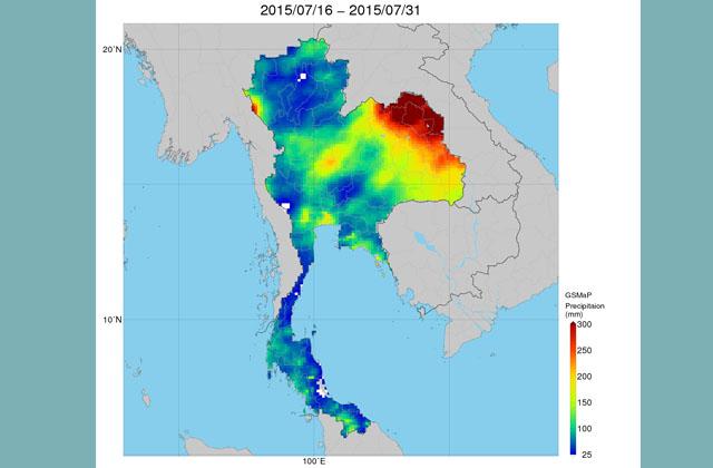 衛星全球降水マップ(GSMaP)の海外における農業分野での利活用(地球が見える 2019年)