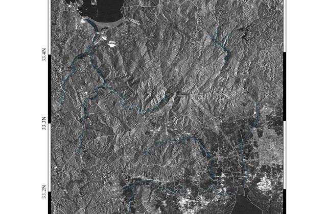 地球が見える 2019年8月下旬の九州北部地方の豪雨と洪水