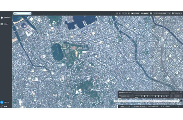 衛星データプラットフォーム「Tellus」で、先進光学衛星「だいち3号」(ALOS-3)相当データの閲覧・解析が可能に