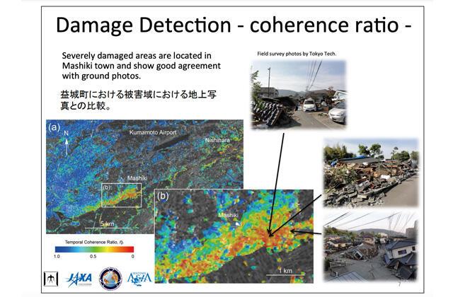 東日本大震災後の人工衛星の防災活用について