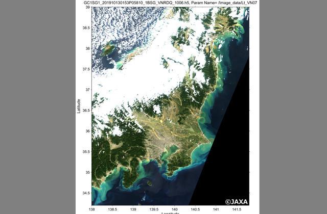 地球が見える  記録的な被害をもたらした台風19号の脅威