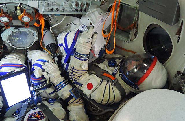 パブリックビューイングでライブ中継を見て金井宇宙飛行士をみんなで応援しよう!