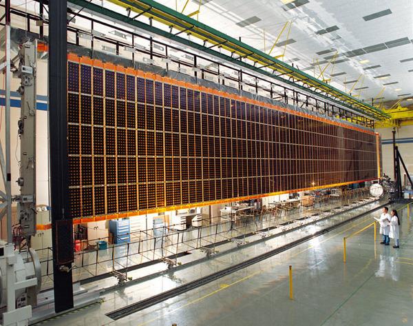 ISSの太陽電池パドル(アメリカ)