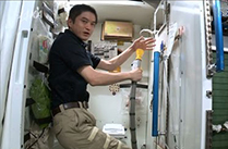 大西宇宙飛行士ISS長期滞在活動報告(Vol.19) ISSでの生活