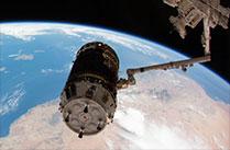 宇宙ステーション補給機「こうのとり」5号機の分離ライブ中継