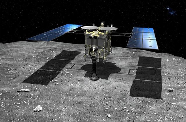 小惑星探査機「はやぶさ2」の記者説明会(18/04/19)