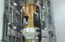 「こうのとり」4号機とH-IIBロケット4号機の結合に向けた準備が完了