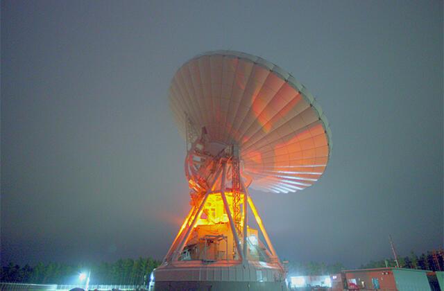 美笹深宇宙探査用地上局におけるX帯電波の送信について