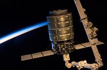 シグナス補給船実証機(Orb-D1)国際宇宙ステーションに到着
