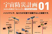 人工衛星を使った防災活動「宇宙防災計画」 No.01