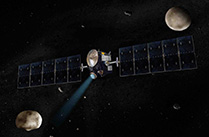 小惑星探査機ドーンが目的地ケレスの姿を捉える