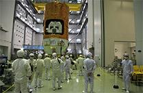 「こうのとり」5号機、種子島宇宙センターにてプレス公開