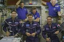 油井亀美也宇宙飛行士、ISS長期滞在を開始