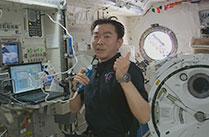 油井宇宙飛行士、ISS滞在100日を経過
