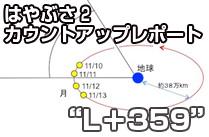 """""""L+359"""" 着々と進む準備~地球スイングバイまであと一週間~"""