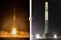 スペースX社、ファルコン9ロケット第一段の垂直着陸に成功!