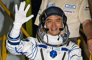 大西宇宙飛行士、七夕に宇宙へ出発!
