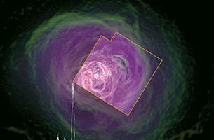 意外に静かだったペルセウス座銀河団中心の高温ガス