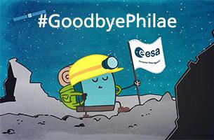 さよならフィラエ! 探検家にお別れのメッセージ画像を送ろう