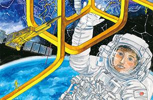 「宇宙の日」作文絵画コンテスト、今年度の受賞作品が決まりました!