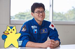 続・金井宇宙飛行士こんにちは!