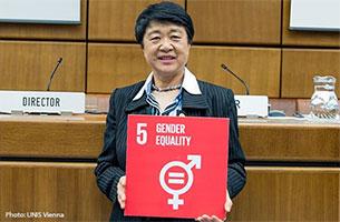 向井技術参与、3月8日国際女性の日に向けて語る