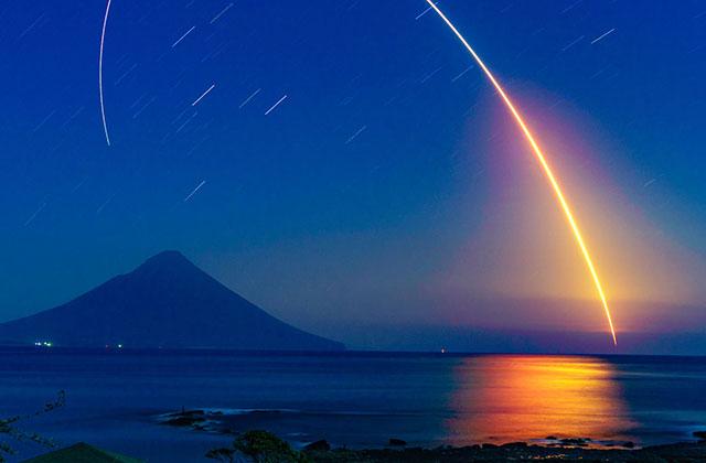 「こうのとり」6号機打ち上げ写真がソニーワールドフォトグラフィーアワード2017・日本部門賞の1位を獲得