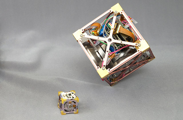 ここがスゴイ!「超小型三軸姿勢制御モジュール」