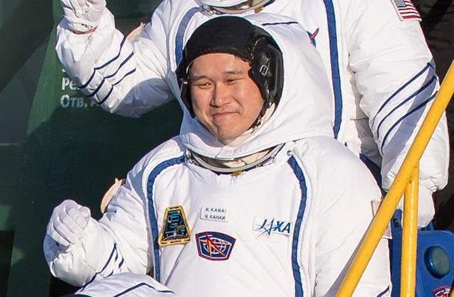 金井宇宙飛行士、12/17に宇宙へ出発!