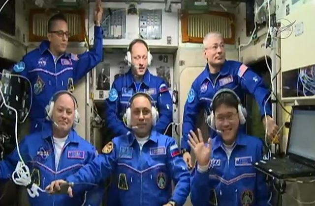 金井宇宙飛行士、国際宇宙ステーションに到着!