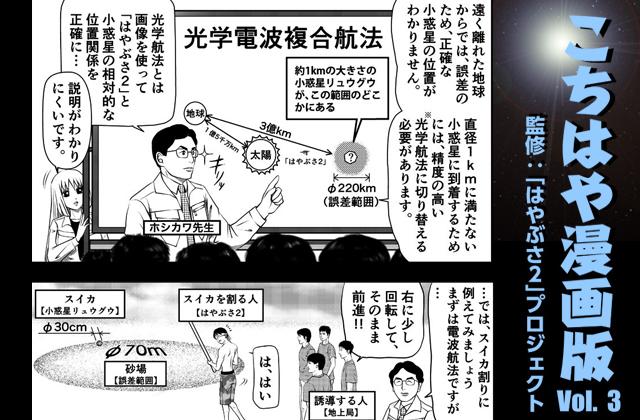 [こちはや漫画版] Vol.3:光学電波複合航法 を掲載しました