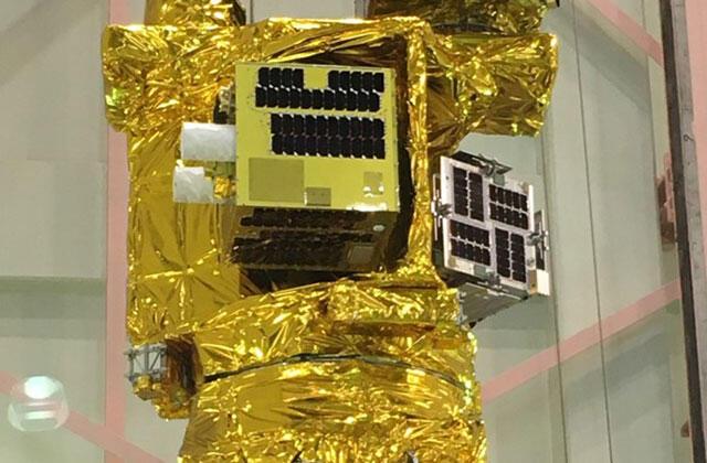 複数衛星搭載構造にすべての衛星が搭載されました