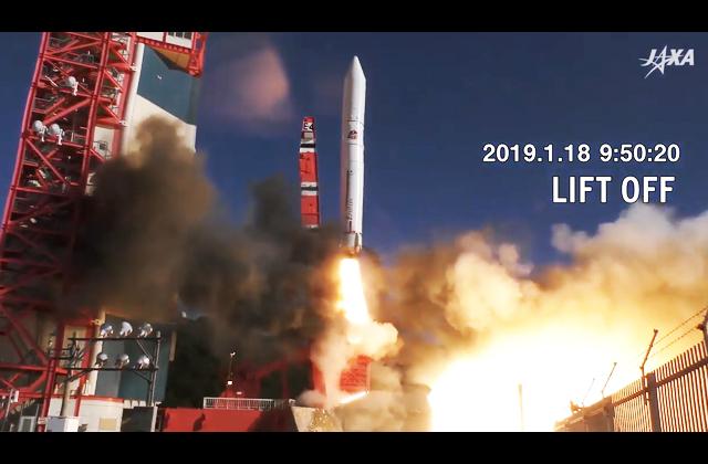 【動画】革新的衛星技術実証1号機/イプシロンロケット4号機リフトオフ ムービー