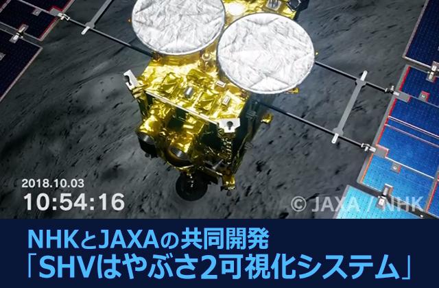 NHKとJAXAの共同開発「SHVはやぶさ2可視化システム」