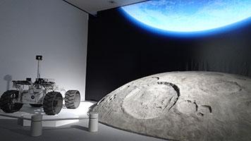 地球光&惑星探査車