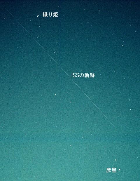 ステーション 見える 日 宇宙