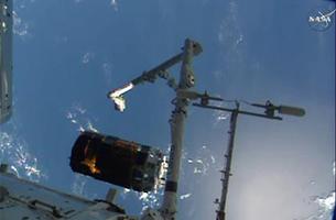 「こうのとり」6号機、ISSから分離