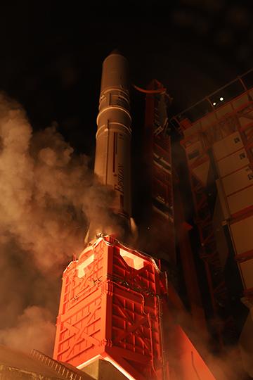 イプシロンロケット打ち上げ1