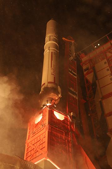イプシロンロケット打ち上げ2