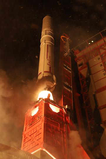 イプシロンロケット打ち上げ3