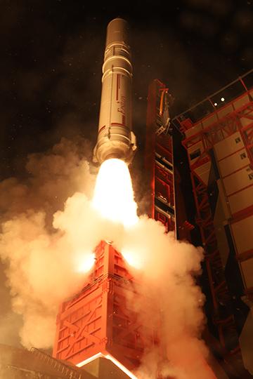 イプシロンロケット打ち上げ4