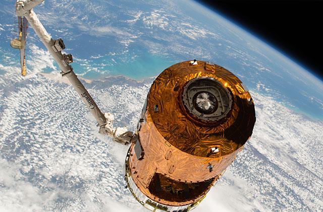 「こうのとり」7号機、大気圏へ再突入・ミッションを完了