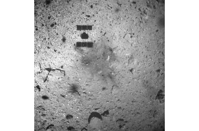 小惑星探査機「はやぶさ2」、第1回目のタッチダウン成功について