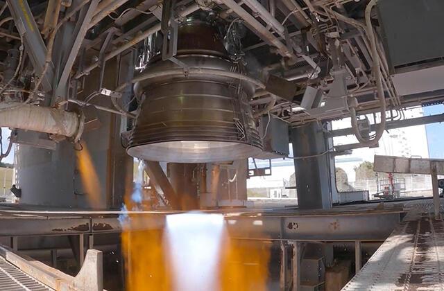 LE-9エンジン技術データ取得燃焼試験
